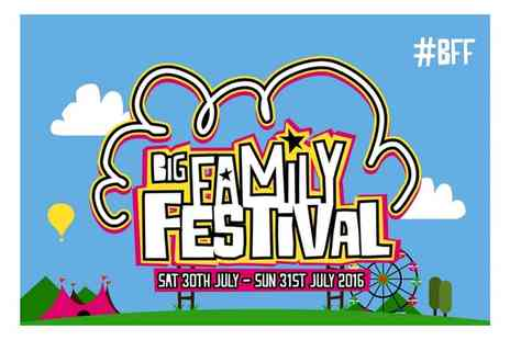 Big Family Festival - Tickets with Optional Camping and Parking Passes to Big Family Festival on 30 or 31 July - Save 39%