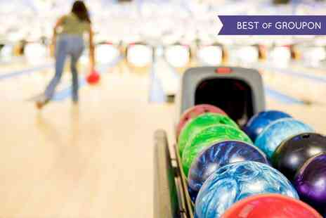 M & D's Theme Park - Bowling and Adventure Golf for Four or Six - Save 51%
