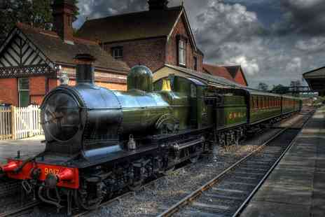 Chigwell Tours & Visits - Ongar Steam Train Tour Plus Afternoon Cream Tea for One or Two - Save 0%