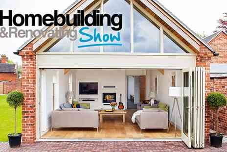 Homebuilding & Renovating Shows - The Southern Homebuilding & Renovating Show One Day Entry for Two, Sandown Park, 25 To 26 June - Save 56%