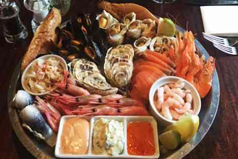 Chapmans Seafood Bar - Cold Fish Platter For Up to Ten - Save 61%