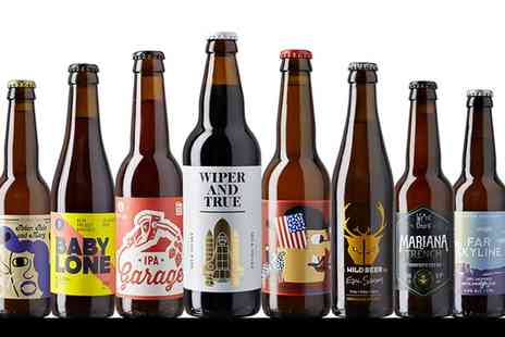 Beer52 - Eight Craft Beers with Magazine, Snack and Bottle Opener - Save 77%