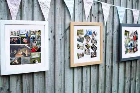 Mezoo - Personalised Framed Canvas Print In Choice of Frames and Styles - Save 93%