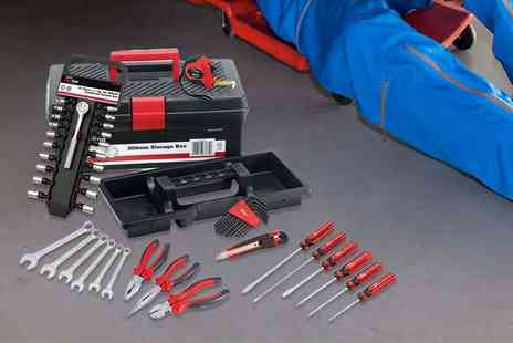 Capital Stores - 47 piece Draper Redline tool kit and storage box - Save 61%