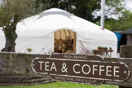 Riverside Yurt - Afternoon Cream Tea for Two or Four - Save 0%