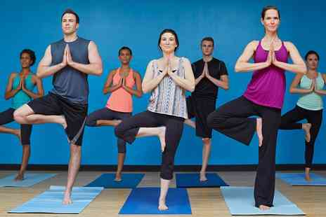 Fitjoy - One or Four Yoga Passes - Save 0%