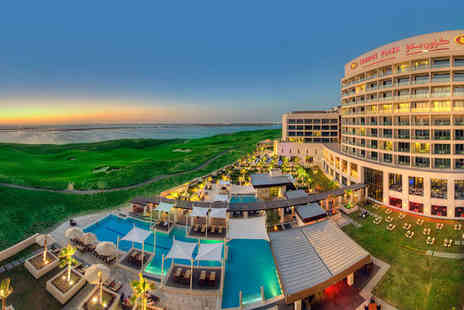 Crowne Plaza Yas Island - Four Star 7 nights Stay in a Deluxe Room - Save 64%