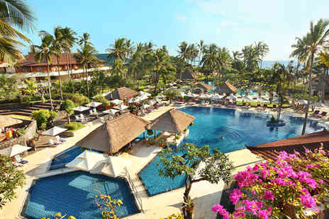 Nusa Dua Beach Hotel & Spa - Five Star 7 nights Stay in a Palace Club Room - Save 54%