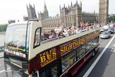 The Big Bus Company - The Big Bus London Sightseeing Tour - Save 0%