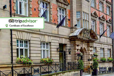 The Richmond - One or Two night 4 Star city break for two plus a bottle of Prosecco, breakfast and leisure access - Save 68%