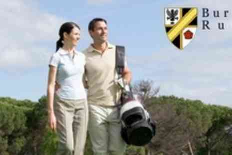 Burnage RFC - 18 Holes of Golf For Two With Pie and Pint Each - Save 63%