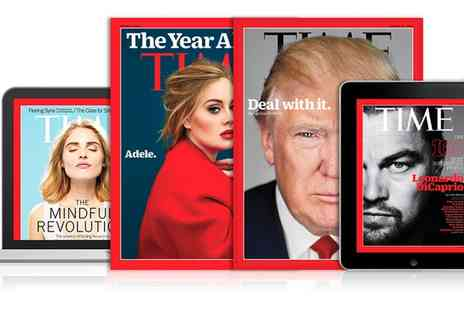 Time Magazine - Time Magazine Subscription for 12 Months - Save 50%