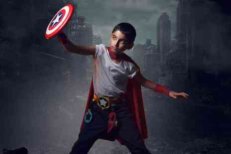 Pop Photography - Mini Superhero Photoshoot  - Save 0%