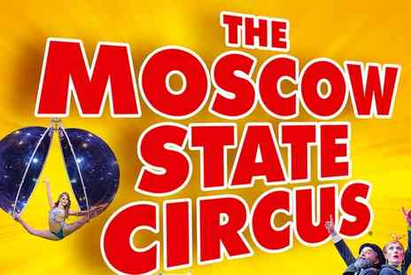 Moscow State Circus - One Ticket to Moscow State Circus, 29 June Three July at Hunters Hall Park, Edinburgh - Save 53%