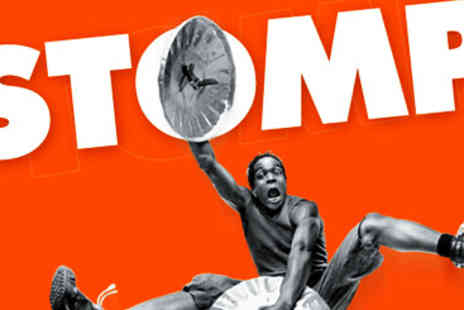 Stomp - Meal and Stomp Theatre Tickets for Two - Save 10%