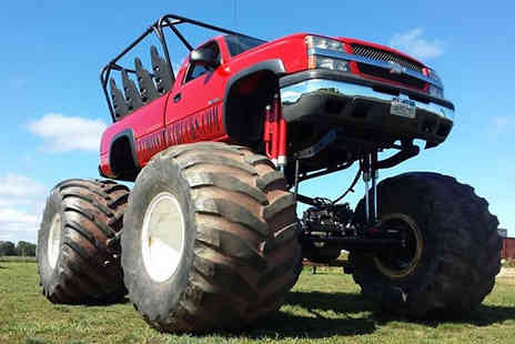 wicked adventures - Monster Truck & Car Crushing Experience 4 UK Venues - Save 0%
