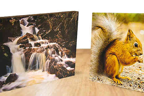Print My Photo Limited - A3 Personalised Canvas - Save 78%