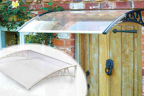 Gablemere LTD - 1m or 1.2m Porch Door Canopy Two Colours - Save 0%