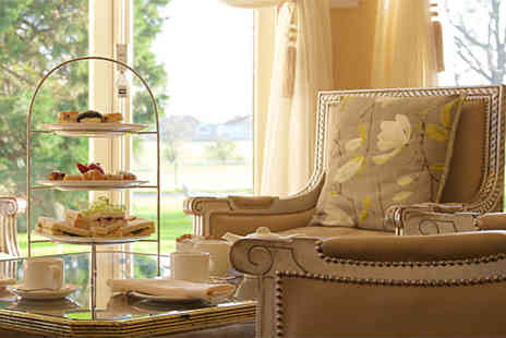 Llyndir Hall Hotel and Spa - Sparkling afternoon tea for two with spa access - Save 54%