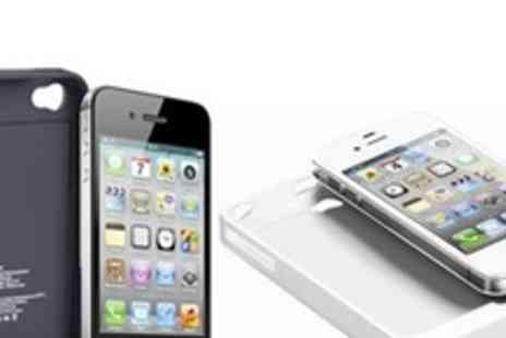 Mytouchscreen.co.uk - Two iPhone 4 or 4S Charging Case - Save 61%