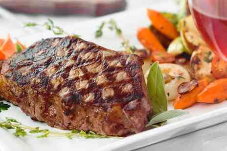 The Imperial Public House - Steak Meal with a Glass of Wine or a Soft Drink for Two or Four - Save 0%