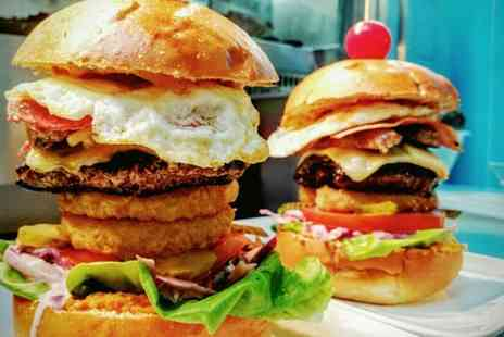 Meat Rack - Burger, Milkshake and Sides for Two or Four - Save 52%
