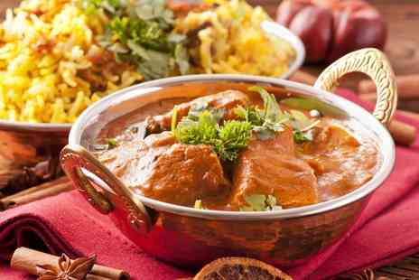 Karachi Cuisine - Two Course Indian Meal with Wine or Beer for Two or Four - Save 58%