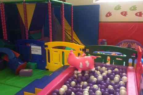 Soft Play Essex - Soft Play Area Entry for Up to Four Children and Two Adults - Save 0%
