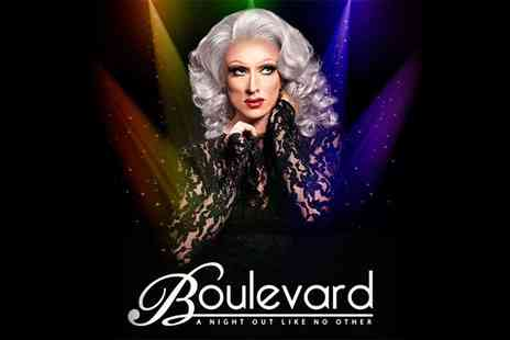 Boulevard - Summer Cabaret Show Tickets for Two on 19 June to 11 September - Save 30%