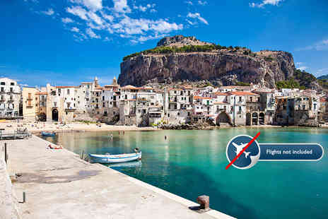 Get Your Sicily - Four or Seven night Magic of Sicily tour including transfers and accommodation - Save 45%