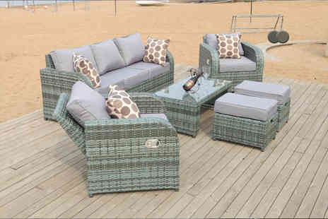 Dreams Living - Rattan recliner lounge set - Save 57%