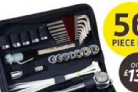 Led Hut - Compact Tool Kit in Zippered Case - Save 61%