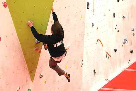 Boulder World - One Hour Indoor Climbing Taster Session or Six Week Course for One or Two - Save 50%