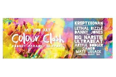 Climax Promotions - Entry to Colour Clash for One, Two or Four, Rodney Parade, 23 July - Save 0%