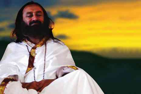 Art Of Living Foundation - Meditation 2.0, Go Deeper with Sri Sri Ravi Shankar, 19 June - Save 38%