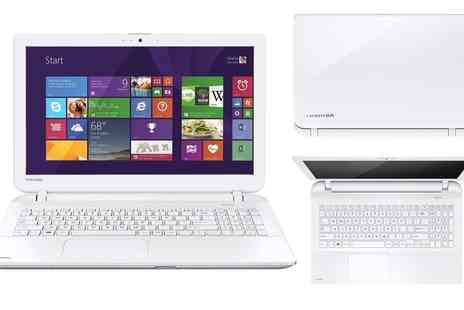 T.L.X Electrical Ltd - Refurbished Toshiba Satellite L50D-B-16P 15.6 Inch Laptop AMD A4 1TB HDD 4GB RAM Windows 8.1 A  - Save 0%