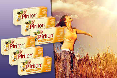 Aktive Healthcare - Two month supply of Piriton allergy tablets - Save 40%