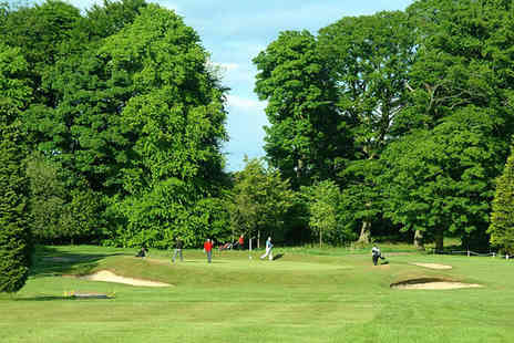 The Bishopbriggs Golf Club - Round of golf for two with lunch - Save 72%