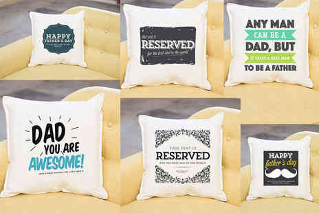 Prints With Feelings - Personalised cushion cover - Save 73%
