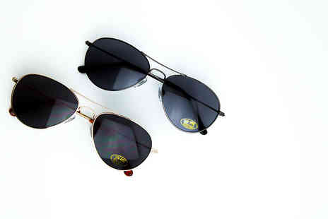 ReDic Eyewear - Pair of regular or prescription sunglasses in a choice of gunmetal or gold - Save 78%