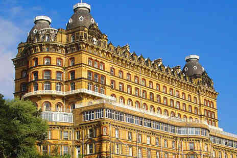 Britannia Hotels - Scarborough break with three course dinner and Pimms for two - Save 44%