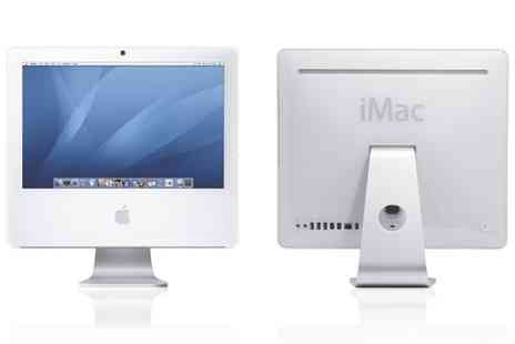 Titanium Computers - Refurb Apple iMac A1195 17 inch Core Duo 1.83GHz 2GB 160GB Mac iOS Snow Leopard 10.6  With Free Delivery - Save 0%