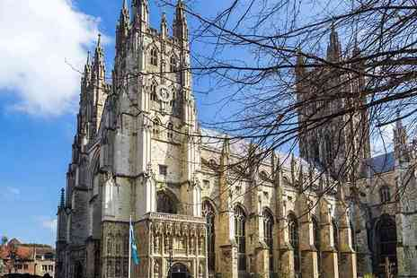 Abbey Tours UK - Day long guided coach tour to Dover Castle and Canterbury- Save 66%