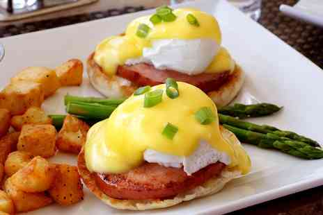 Palm Court Pavilion - Eggs Benedict or Florentine Breakfast with Tea or Coffee for Two or Four - Save 50%