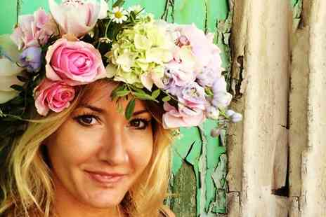 MADE - 90 Minute Flower Headdress Making Workshop - Save 0%
