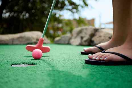 Lost World Adventure golf - Adventure Golf for One, Four or a Family - Save 34%