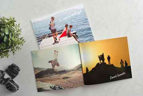 Photobook - 40-Page Personalised A4 Size Photobooks - Save 76%