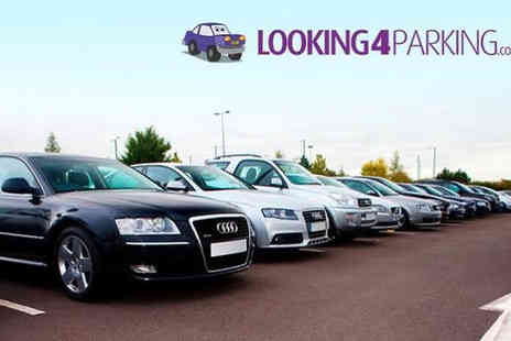 Looking4Parking -  Up to 20% off Meet & Greet or Park & Ride at 16 UK Airports - Save 0%