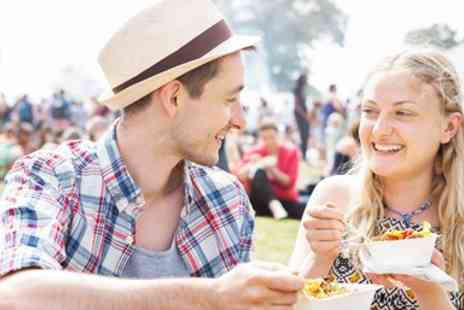 The Great British Food Festival - Summer Food Festival Entry for 2 including Recipe Booklet - Save 50%