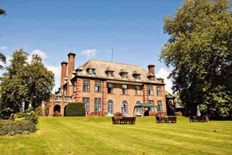 Llansantffraed Court - Stately Welsh Escape with 7 Course Dinner  - Save 41%